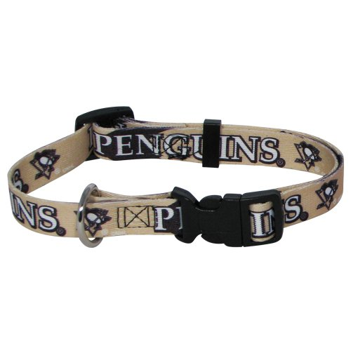 Hunter MFG Pittsburgh Penguins Dog Collar, Extra Large