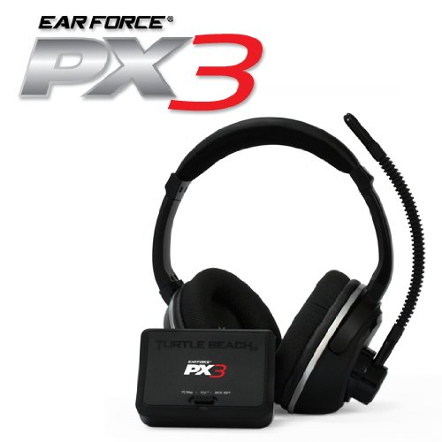 Turtle Beach PX3 Programmable Wireless Headset PS3