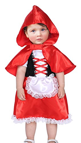 La Vogue Baby Toddler Girl Holloween Cute Dress Cosplay Costume Set of 2 S 0-6 Month - Cute Costumes For Holloween