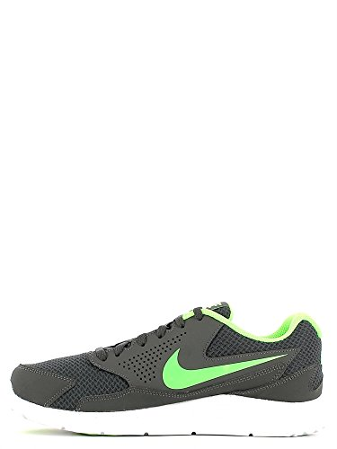 Nike Cp Trainer 2, Zapatillas de Deporte Interior para Hombre Gris / Verde / Blanco (Dark Grey / Voltage Green-White)