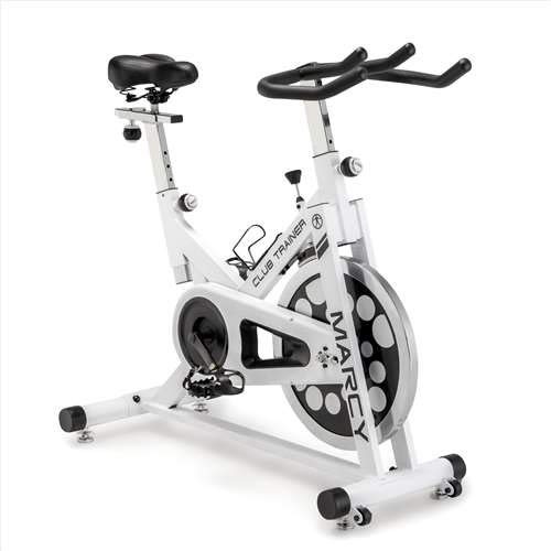 Marcy XJ-5801 Club Revolution Indoor Home Gym Exercise Bike Trainer, White/Black by Marcy (Image #2)