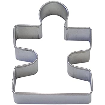 """1 X Puzzle Piece Tin Cookie Cutter 3.25"""" B0865"""