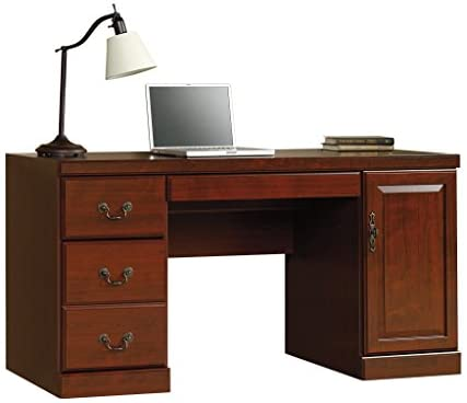 Sauder Heritage Computer Credenza Classic product image