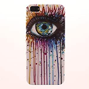 TOPMM Big Eyes Pattern PC Hard Case for iPhone 5/5S