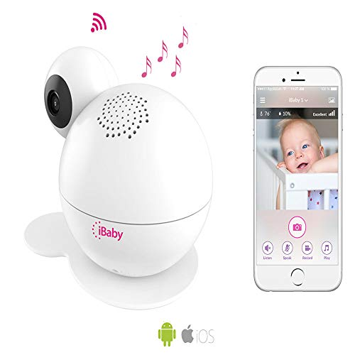 iBaby Wifi Baby Monitor M7 Lite, Smart Baby Care System 1080p Video...
