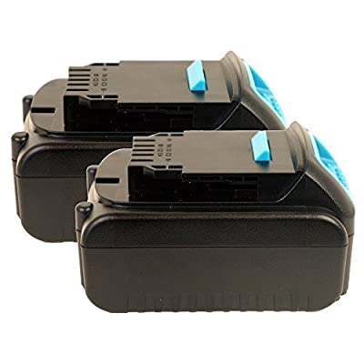 Lithium Drill Pack Replacement Battery for Dewalt Drill 20 Volt 3000mAh- 2PK