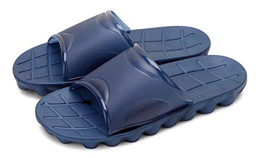 Bain Adulte Happy Pour Douche Chaussures Sandales slip Non Rsine Beach Toboggan Mousses Pantoufles Salle Unisexe Pensez De Bleu on Mule Piscine Lily Semelle Slip 1AwqxBH1r
