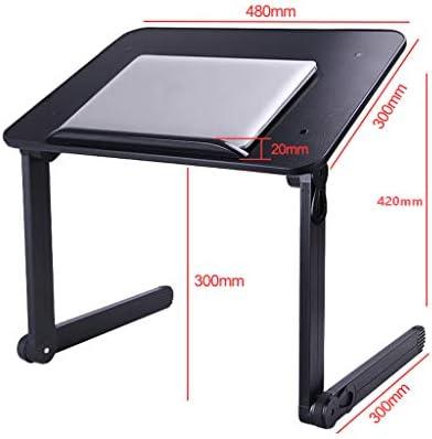 BEIGOO Mesa Portátil Plegable Móvil Mesa para Laptop Ajustable ...