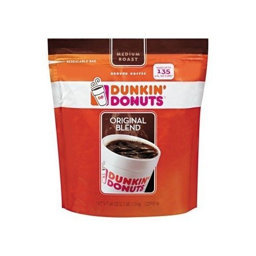 Dunkin Donuts Original Blend Coffee 40oz Impress upon Grocery Product