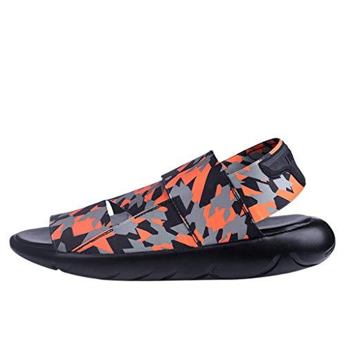 Kawaiine Men's Waterproof Sport Sandals Strap Athletic Beach Sandal for Men Casual Outdoor Walking Water