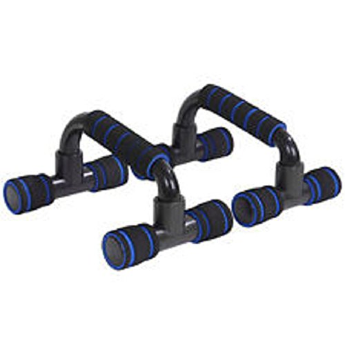 Exercise Push Up Stand Incline Bars For Home Fitness Training – Stable, Comfortable Grips - Build Strength Faster - SET OF 2 by Home Style