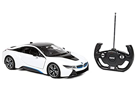 Amazon Com Rastar Bmw I8 1 14 Rtr Electric Rc Car Toys Games