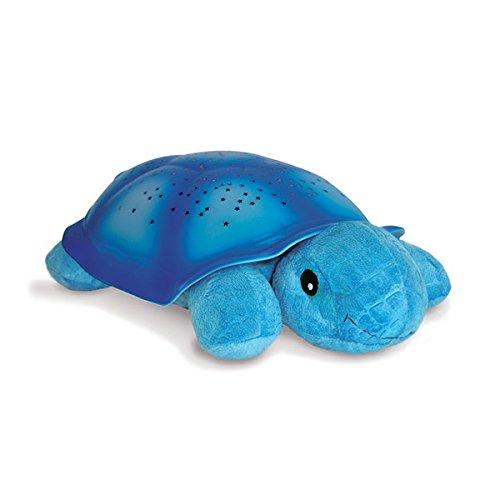 Cloud B Twilight Turtle – Luz nocturna con proyector de estrellas, color azul