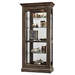 Howard Miller 680608 680-608 Caden II Solid Wood Display Cabinet Made in USA