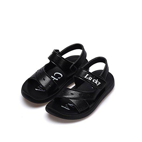 (coloing Kids Children Waterproof Hiking Sport Athletic Sandals(Black 35/3 M US Little Kid))