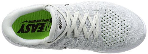 Black Shoe Running Low Women's Lunarepic 2 NIKE White Platinum Flyknit Pure OYwq78xOCF