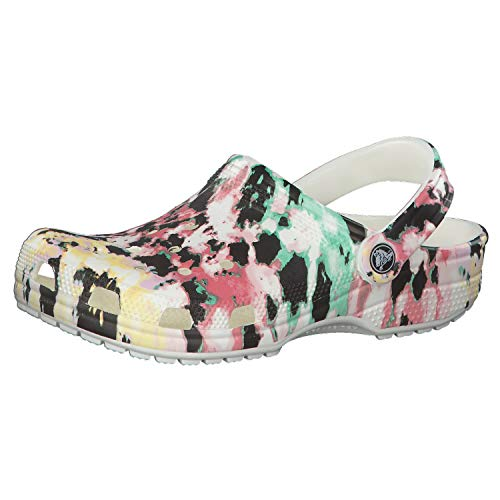 Crocs Men's and Women's Classic Tie Dye Clog | Comfortable Slip on Casual Water Shoe