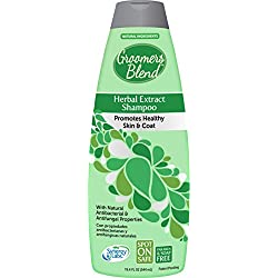 SynergyLabs Groomer's Blend Herbal Extract Shampoo; 18.4 fl. ounces