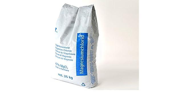 auftaug granulado Cloruro de magnesio 25 kg (0,59 Euro per kg): Amazon.es: Bricolaje y herramientas