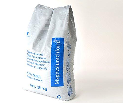 0,59 Euro per Kg Auftaugranulat Magnesiumchlorid 25 Kg