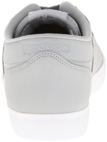 Reebok Heren Workout Laag Schoon Fvs Sneaker Tin Grijs / Wit