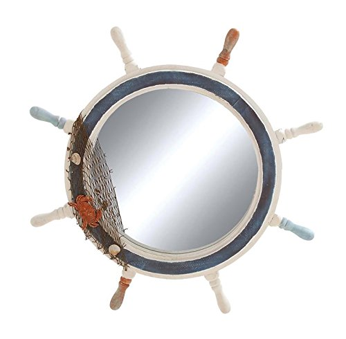 Deco 79 Ship Wheel Mirror with Highly Inspiring Decorative Design Review