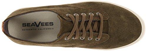 Seavees Mujeres 08/63 Hermosa Plimsoll Fashion Sneaker Surplus Olive