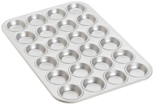 Fat Daddio's 24-Cup Mini Muffin/Teacake (Aluminum Mini Muffin Pan)