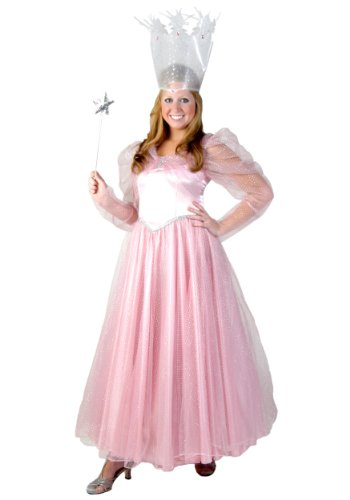 Deluxe Plus Size Glinda Costume (Plus Size Witches Costume)