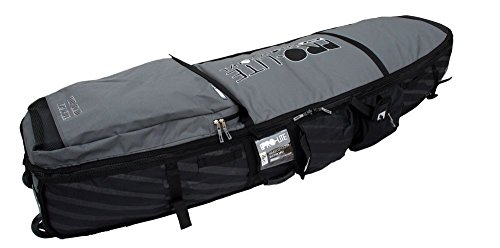 Pro-Lite Wheeled Coffin Surfboard Travel Bag 2-4 Shortboard 6'6 (Wheeled Bag Board)