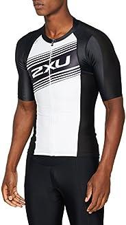 2XU Mens Compression Sleeved Tri Top