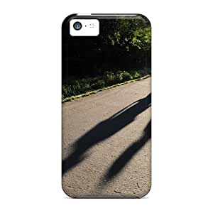 New Ajephke Super Strong Teen Love Couple Walking Hand In Hand Tpu Case Cover For Iphone 5c
