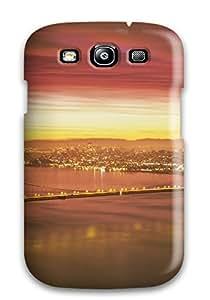 Galaxy S3 Case Bumper Tpu Skin Cover For Golden Gate Bridge Accessories