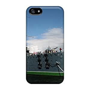 Navy Warships Case Compatible With Iphone 5/5s/ Hot Protection Case