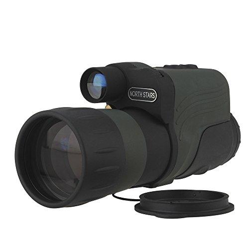 NORTH STARS IR Infrared Night Vision Monocular Scope 150m 4X