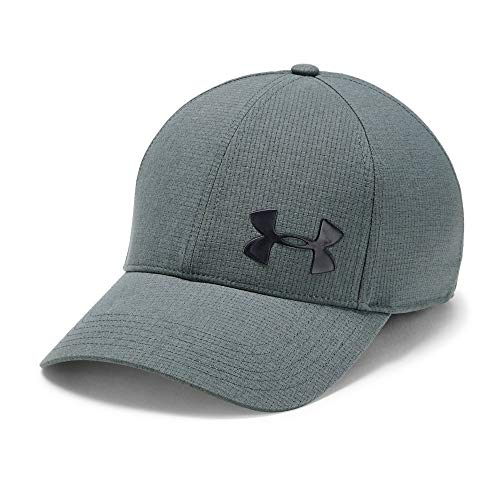 Under Armour Men's AV Core Cap 2.0, Pitch Gray//Metallic ore, X-Large/XX-Large (Baseball Cap Xxl)