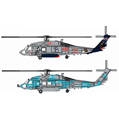 ドラゴン 1/144 SH-60F & HH-60H 対潜ヘリ部隊「インデアンズ」 プラモデル