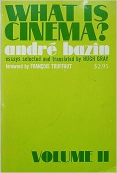 What is Cinema? Volume II