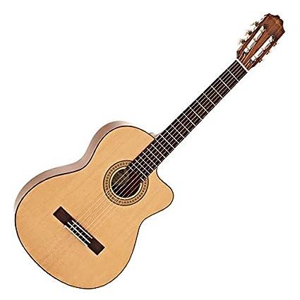 Guitarra Española Deluxe Single Cutaway de Gear4music