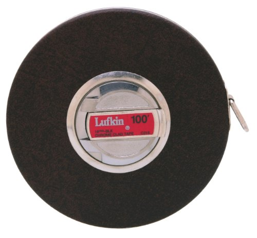 Lufkin C216 3/8-Inch by 100-Foot Anchor Chrome Clad Tape