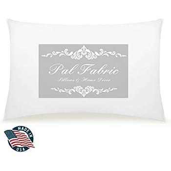 "12""x18"" Rectangular Pillow Insert for Sham or Decorative pillow Made in USA (12x18)"