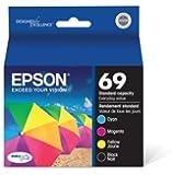 Epson Ink Cartridges Black, Cyan, Magenta, Yellow, Standard Capacity T069120-BCS