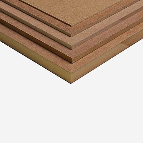 12mm MDF Platte 100x50 cm roh