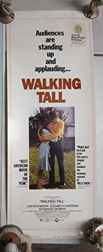 Walking Tall (1973) ORIG US INSERT Movie Poster 14x36 'VIGILANTE' JOE DON BAKER Phil Karlson