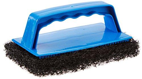 Star brite Scrub Pad with Handle (Coarse) (Black)