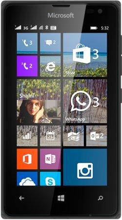 Nokia Lumia 532 schwarz Single Sim