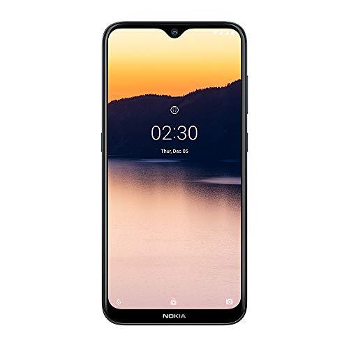 Smartphone Nokia 2.3 com tela de 6.2 polegadas, 32GB de armazenamento e 2GB de RAM, câmera traseira dupla de 13MP + 2MP…
