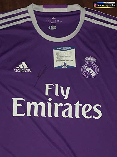 France Signed - Zinedine Zidane Autographed Signed Memorabilia Real Madrid Jersey World Cup France Winner Autographed Signed Memorabilia Bas Coa - Certified Authentic
