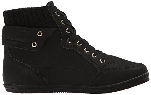Noem Het Lente Dames Cuomo Fashion Sneaker Zwart Kunststof