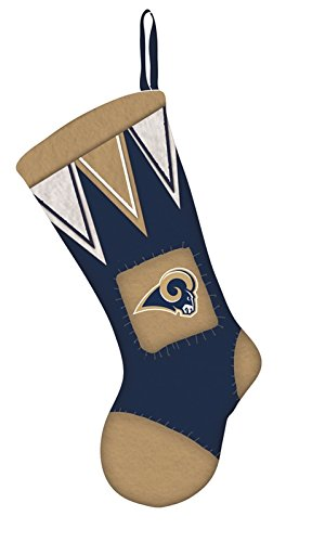 Team Sports America LA Rams Microfleece Christmas Stocking